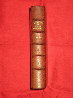 Sully Prudhomme Oeuvres Poesies 1865 1866 Stances Et Poemes