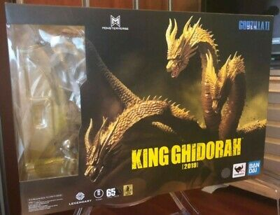 S.H.MonsterArts King Ghidorah 2019 Godzilla King of Monsters BANDAI figure