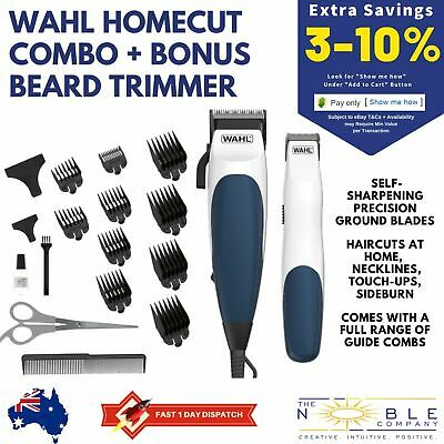 WAHL Haircut Hair Clippers Mens Beard Grooming Electric Trimmer Clipper Combo