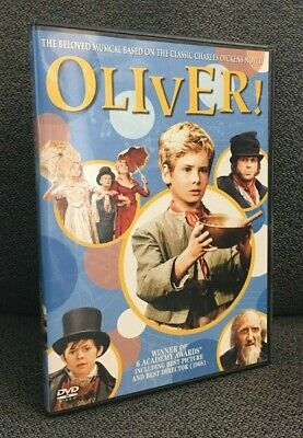 OLIVER!  Oliver Reed  Ron Moody  Mark Lester  Jack Wild  LIKE NEW  DVD  USA