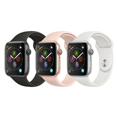 Apple Watch Series 4 40mm GPS only Space Gray , Silver , Gold Rose Gold