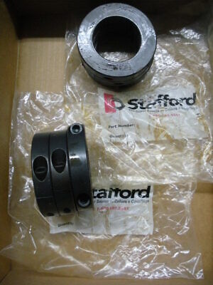 6 qty 1-15/16 shaft collar clamp type double split 2 piece Stafford 2L115 6pcs
