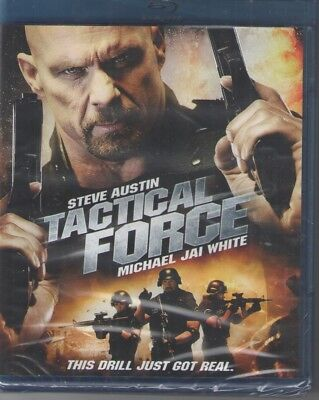 "Tactical Force (Blu-ray Disc, 2011)Steve (""Stone Cold"") Austin, new sealed"