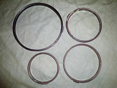 """(2263) 4 metal  Embroidery Hoops - size 4"""", 2 ~ 5"""", 7"""""""