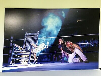 Bray Wyatt WWE large picture photo cardboard poster Wrestling Ring on Fire 36""