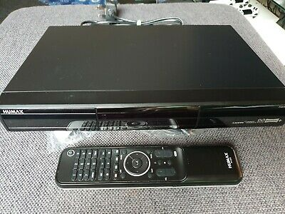 Humax PVR-9300T 320 GB freeview recorder hdmi- Remote and Scart with Manual
