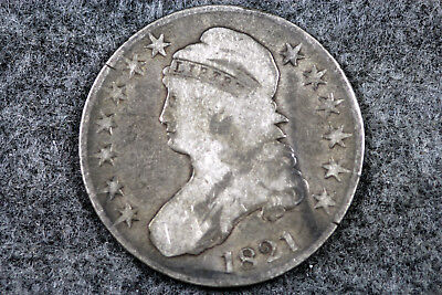 Estate Find 1821  Capped Bust Half Dollar  #D5279