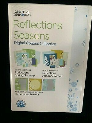 Creative Memories Software PC-CD-Rom New & Sealed Refections Season