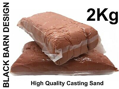 2.0kg Petrobond Oil Bonded Metal Casting Sand for Gold Silver Bronze Delft Style