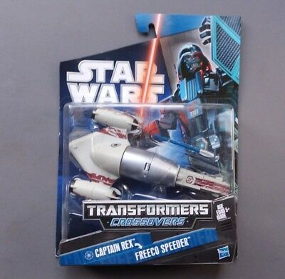 Star Wars Transformers Crossovers Clone Captain Rex / Freeco Speeder