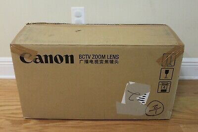 Canon HJ40eX10B IASE-V H HD 2/3'' B4 mount lens *BRAND NEW IN BOX* COMPLETE SET