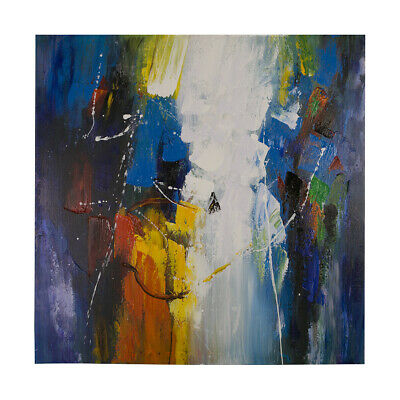 Abstract Oil Painting Hand Painted Modern Wall Art Home Decor On Canvas Framed
