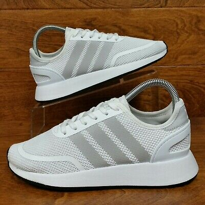 new concept 801db 53df9 Adidas Originals N-5923 (Boy s Size 5Y) Athletic Running Sneaker Shoes White