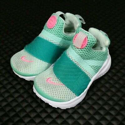 7136c783ce Nike Presto Extreme (Toddler Girl's Size 6C) Athletic Sneaker Shoes Mint  Green