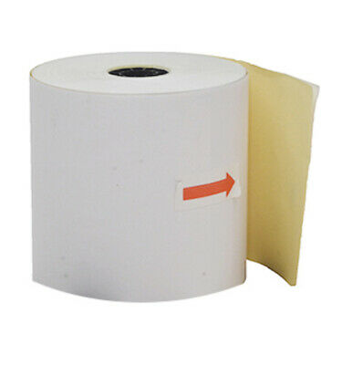 100 76x76mm Impact 2ply Receipt Rolls ($1.25 per roll)