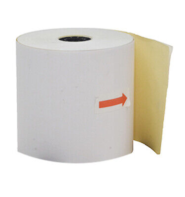 50 76x76mm Impact 2ply Restaurant Receipt Rolls ($1.32 per roll)