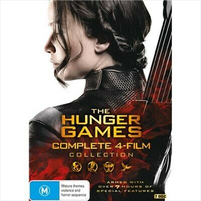 Hunger Games Complete Collection, DVD