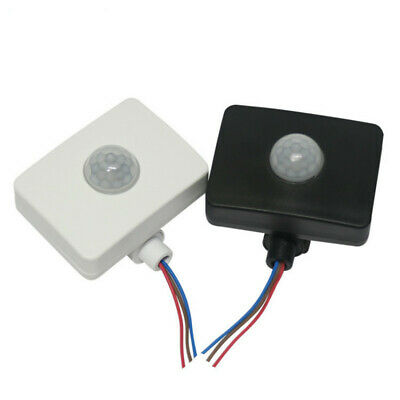 New Outdoor LED Security Infrared PIR Motion Sensor Detector Wall Light