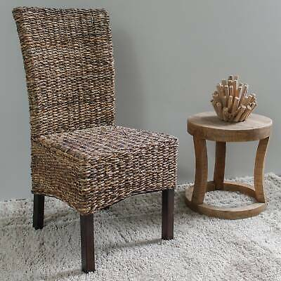 International Caravan Arizona Abaca Mahogany Dining Chair