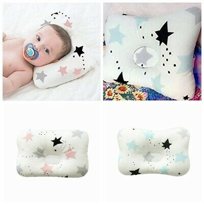 Cotton Newborn Baby Infant Pillow Positioner Prevent Flat Head Anti Roll Star