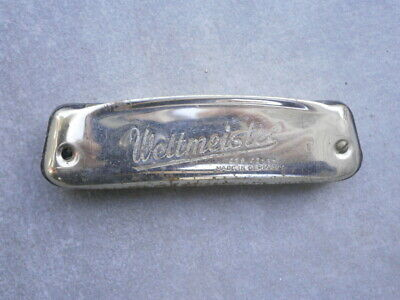Antique Germany Harmonica Weltmeister Harmonics With Stamps