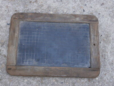 Antique Vintage School Board Plate For Writing