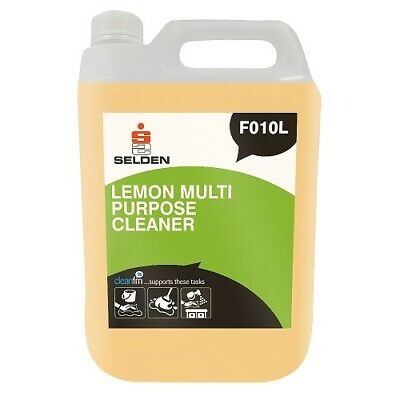Selden Floor Cleaners Concentrated/Gel, Fast Lane, Hard Surface, Pine & Lemon 5L