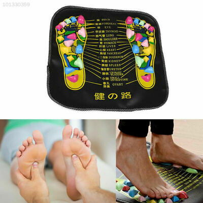 2019 Walk Stone Reflexology Pain Relieve Foot Massager Mat Acupressure Pad AU