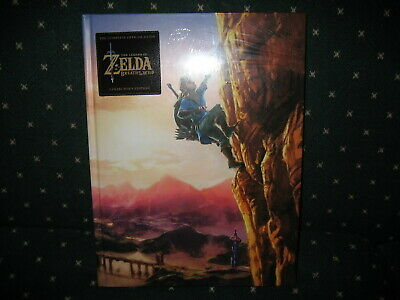 The Legend of Zelda: Breath of the Wild Complete collectors edition guide SEALED