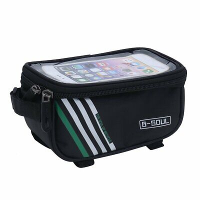 B-SOUL Bicycle Mobile Phone Pouch Touch Screen Top Frame Tube Storage CA