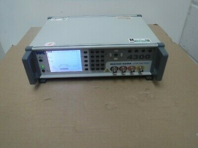 Wayne Kerr 4300 LCR Meter Model 4310 1J4310, 20Hz to 100kHz