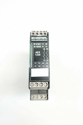 Schmersal AES-1235 Safety Relay Module 24v-dc