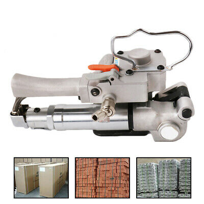 Portable Strapping Machine Pneumatic Strapping Banding Tool 13-19MM PP PET Strip