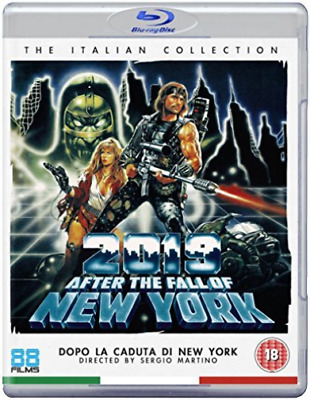 2019: After The Fall Of New York (Blu-Ray) BLU-RAY NEW