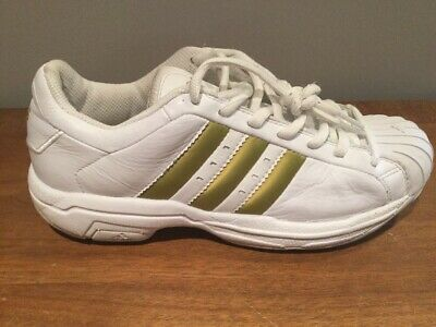9 Men's Superstar White Leather 2001 676879 Ss2g Gold Adidas