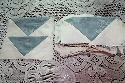 Flying Geese Quilt Blocks 6.5 x 3.5  (109)