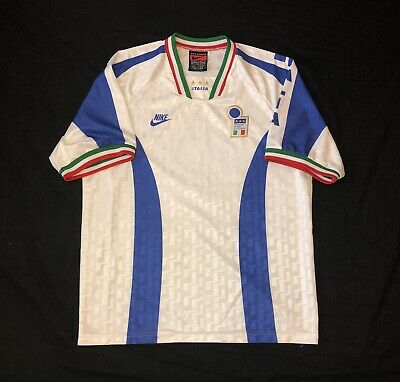 🔥*VGC* Vintage Italy 1995 Training Football Shirt Nike - Size XL🔥
