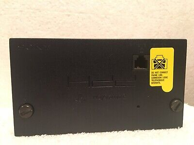 Playstation 2 Network Adapter Official Sony PS2 HDD Online SCPH-10281