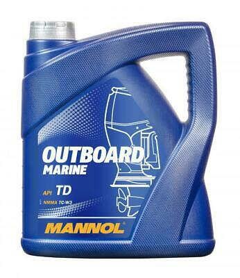Mannol OUTBOARD MARINE Engine Oil for two-stroke engines API TD