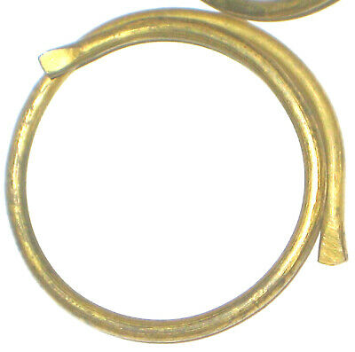 (55) Genuine Antique Vintage Solid Brass Curtain Hoops/Rings