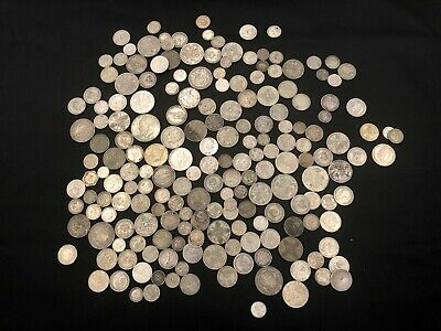 1KG of RARE & Highly Collectable SILVER world coins  - Lot 507