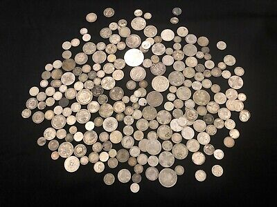 1KG of RARE & Highly Collectable SILVER world coins  - Lot 508
