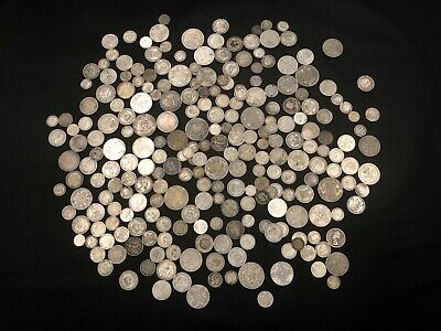 1KG of RARE & Highly Collectable SILVER world coins  - Lot 509