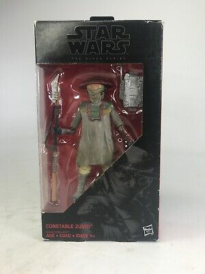 Star Wars: The Black Series - #09 Constable Zuvio - 6-Inch - Action Figure NEW