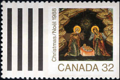 1988 Canada #1222-1225, Complete Set(4), Never Hinged