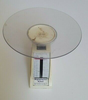 Vintage Weight Watchers Scale - Spring