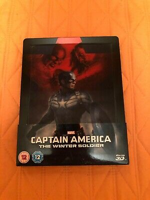 Captain America - The winter soldier 3D - 2 Bluray steelbook