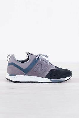 NEW BALANCE Uomo Sneakers 247 V1 luxe in pelle verde militare