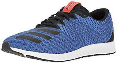Adidas Mens Aerobounce pr m Low Top Lace Up Trail Running Shoes, Black, Size 4.0