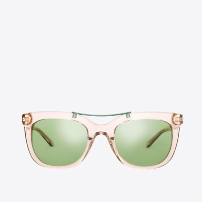 2f987be8b9b1 Tory Burch Gold Green Bridge Sunglasses Women NWT Bohemian Rhapsody  Collection
